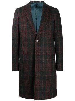 Ps by Paul Smith однобортное пальто в клетку M2R599TE21021