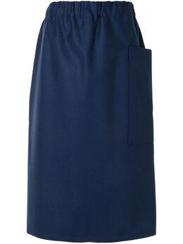 Sofie D'hoore юбка миди с эластичным поясом W20SAMWFLA