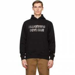 Billionaire Boys Club Black Magnetic Logo Hoodie B20427