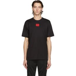 Hugo Black Diragolino T-Shirt 50437287
