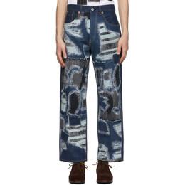 Junya Watanabe Indigo Selvedge Garment-Treated Jeans XF-P013-051