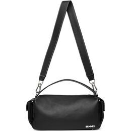 Sunnei Black Labauletto Duffle Bag BSS02