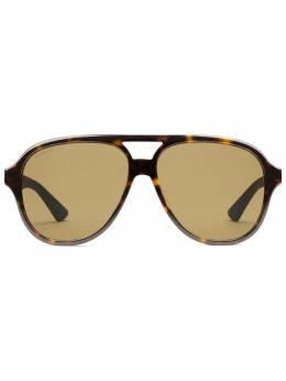 Gucci Eyewear солнцезащитные очки-авиаторы 610386J0750