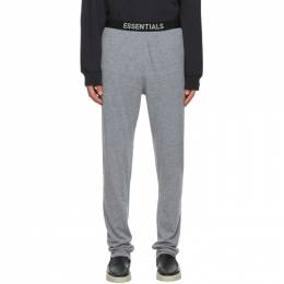 Essentials Grey Jersey Lounge Pants 130BT202027F