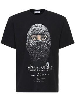 Хлопковая Футболка Black Mask Ih Nom Uh Nit 74IY38002-MDA50
