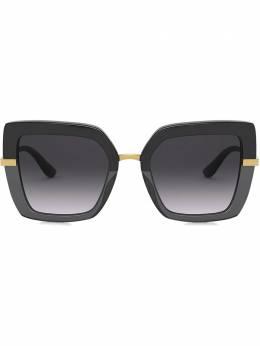 Dolce&Gabbana Eyewear солнцезащитные очки в квадратной оправе VG4373VP68G