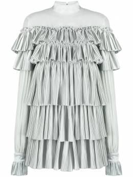 Wandering платье с оборками и плиссировкой WGW20417
