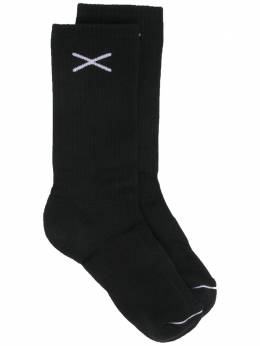 Barrie носки в рубчик C140801