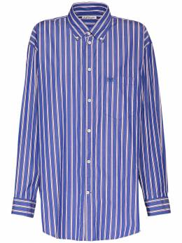 Рубашка Из Поплин Balenciaga 73IIUU079-NDgwMA2