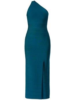 Платье Из Стретч Джерси Herve Leger 73IL5V003-U0xBVEUgVEVBTCAzMDQ1