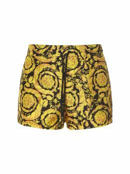 Купальные Шорты Из Нейлона Versace Underwear 73I0CL004-QTc5MDA1
