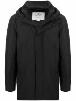Woolrich пальто с потайной застежкой WOOU0253MRUT2345