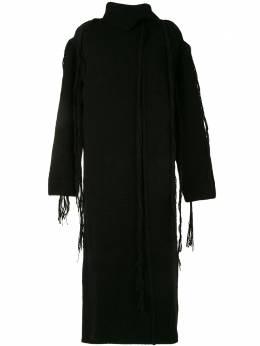 Yohji Yamamoto платье Yarn Drop NRK54184
