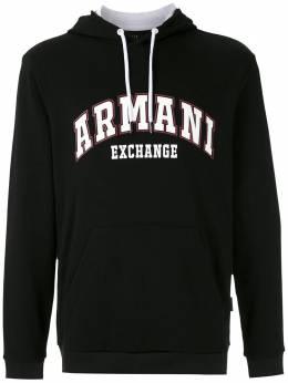 Armani Exchange худи с логотипом 3HZMFBZJ5CZ