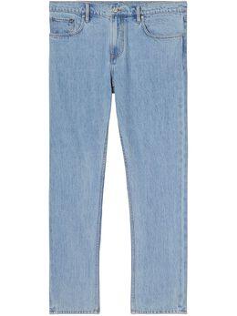 Burberry джинсы прямого кроя 8036876