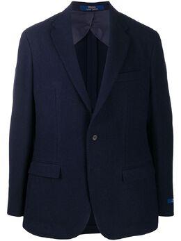 Polo Ralph Lauren однобортный пиджак строгого кроя 715775982003