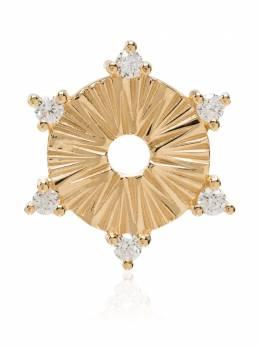 Foundrae золотая подвеска с бриллиантами D4Diamond