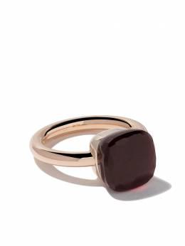 Pomellato 18kt rose & white gold Nudo garnet ring AA110OG1O6