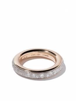 Pomellato кольцо Iconica из розового золота с бриллиантами AB712PPB9