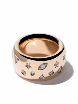 Pomellato кольцо Iconica из розового золота с бриллиантами A910650MXBO7