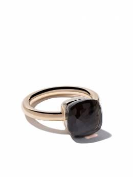 Pomellato 18kt rose & white gold Nudo smoky quartz ring AA110O6QF