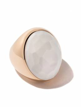 Pomellato 18kt rose gold Victoria cacholong ring AA107AW1O7