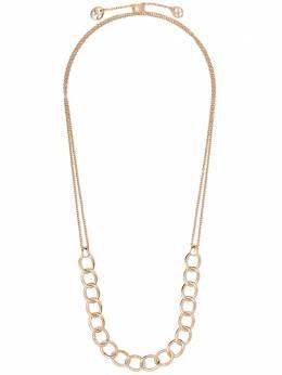 Pomellato золотое колье Brera с бриллиантами CB9105BRO772