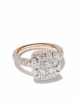 Pomellato золотое кольцо Nudo с бриллиантами AB704GO6B9