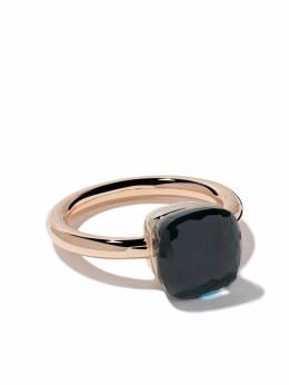 Pomellato кольцо Nudo из белого и розового золота с топазом AA110O6TL