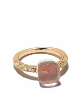 Pomellato золотое кольцо с бриллиантами AB704BRO6QR