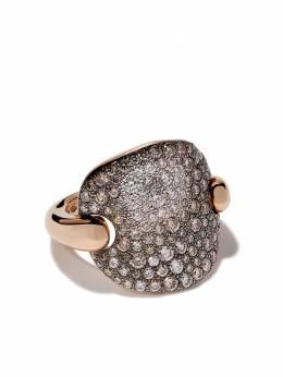 Pomellato золотое кольцо Sabbia с бриллиантами AB607BO7BR