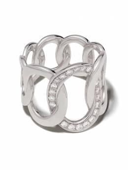 Pomellato золотое кольцо Brera с бриллиантом AB910B9