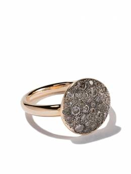 Pomellato 18kt rose gold Sabbia brown diamond ring AB204O7BR