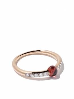 Pomellato 18kt rose gold M'ama non M'ama garnet & diamond ring AB703BO7OG