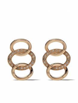 Pomellato золотые серьги Brera с бриллиантами OB910BRO7