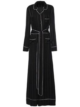 Шелковый Костюм Из Атласного Жаккарда Dolce&Gabbana 73IB41071-TjAwMDA1