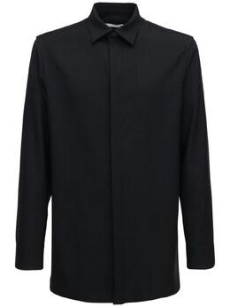 Мягкая Шерстяная Рубашка The Row 72IBF8003-QkxL0