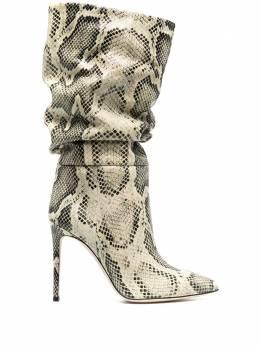 Paris Texas сапоги с тиснением под кожу змеи и заостренным носком PX514XPMBB