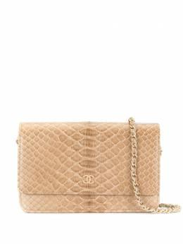 Chanel Pre-Owned сумка WOC с тиснением под кожу змеи WB1972CHBAG