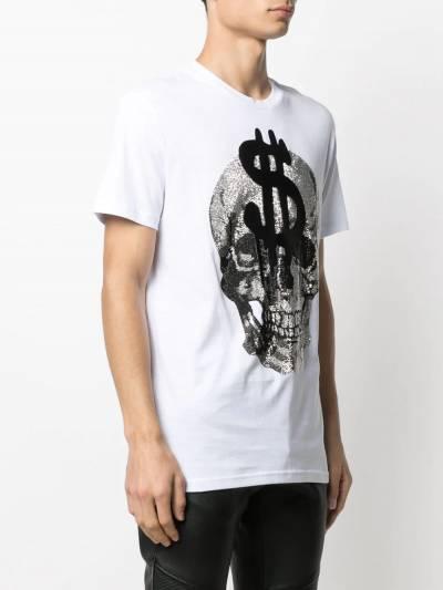 Philipp Plein футболка с кристаллами A20CMTK5131PJY002N - 3