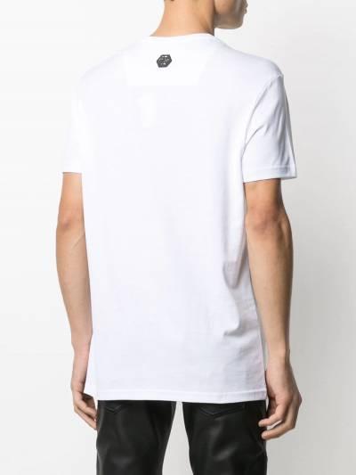 Philipp Plein футболка с кристаллами A20CMTK5131PJY002N - 4