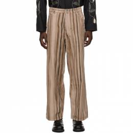 Our Legacy Pink Corduroy Vast Cut Trousers M4205VHC