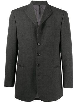 Dolce&Gabbana Pre-Owned однобортный пиджак 2000-х годов DG350AB