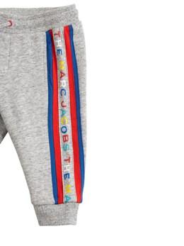 Спортивные Брюки Из Хлопка С Принтом Логотипа Little Marc Jacobs 72IFH2023-QTM10