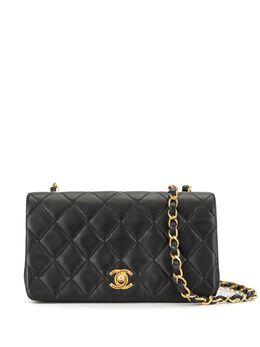 Chanel Pre-Owned стеганый клатч 1990-х годов 1388074