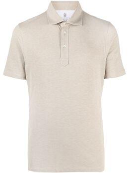 Brunello Cucinelli рубашка поло с короткими рукавами M0T633936C077