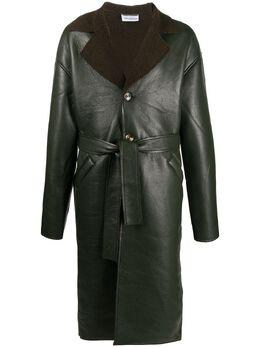 Han Kjobenhavn пальто с подкладкой из овчины M130202