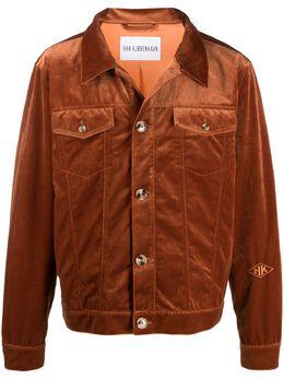 Han Kjobenhavn бархатная куртка-рубашка M130191