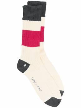 Ymc носки в полоску QPPAB