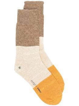 Ymc носки в стиле колор-блок из коллаборации с Corgi QPPAC